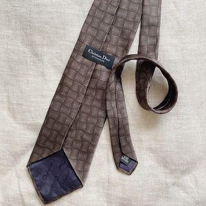 Christian Dior 100% Silk Neck Tie
